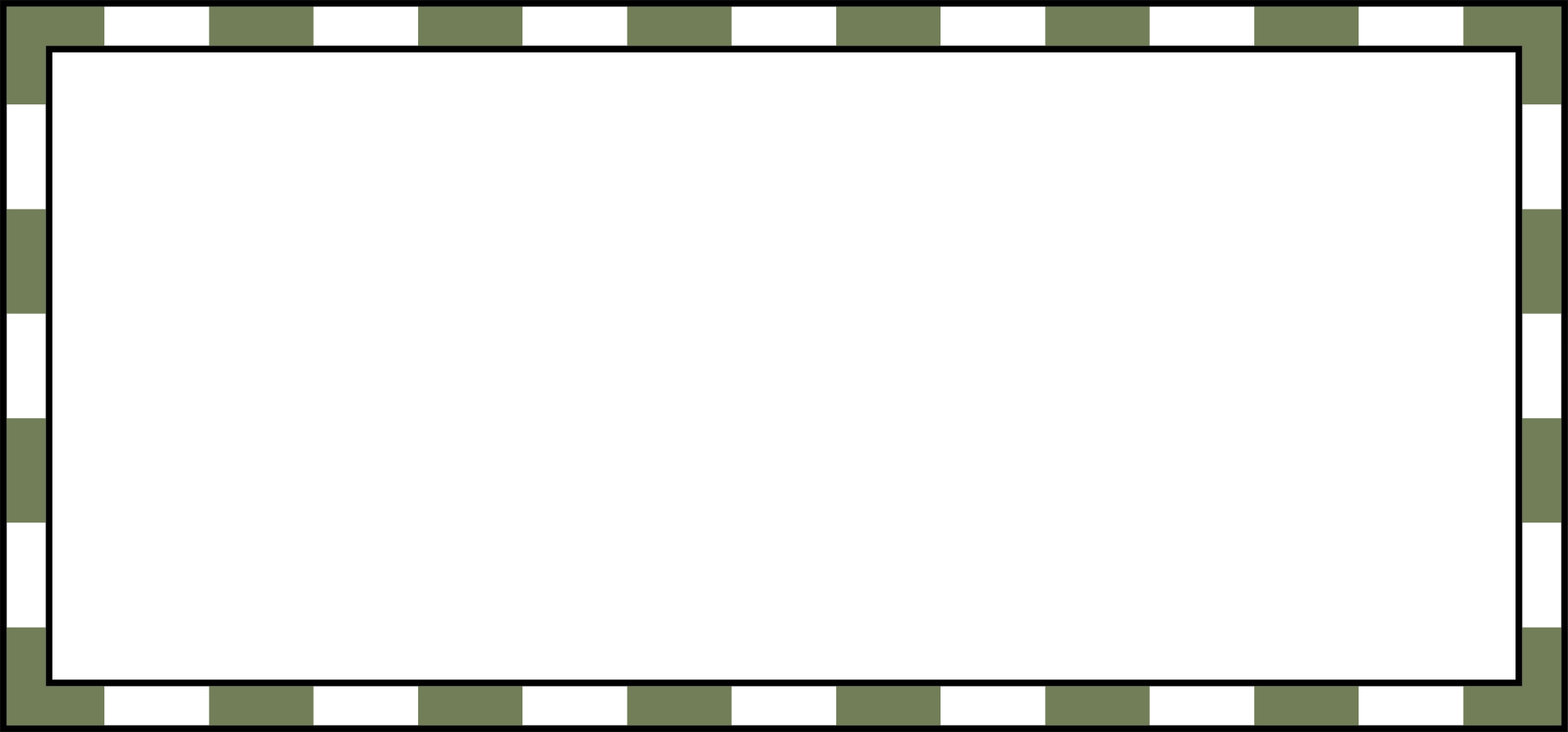 White line border png. Green and coloring book