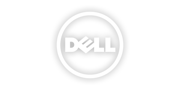 White logo png. Dell transparent images all