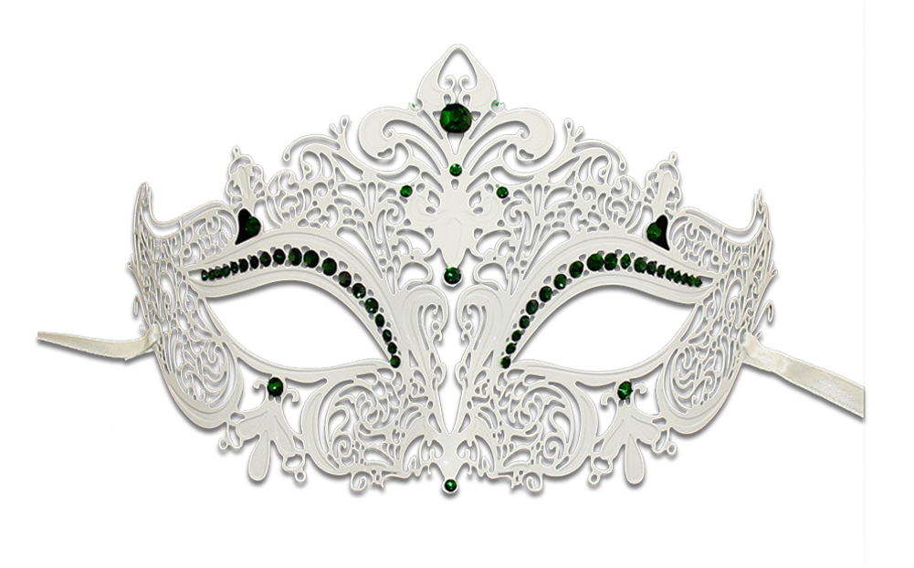 White masquerade mask png. Series women s laser