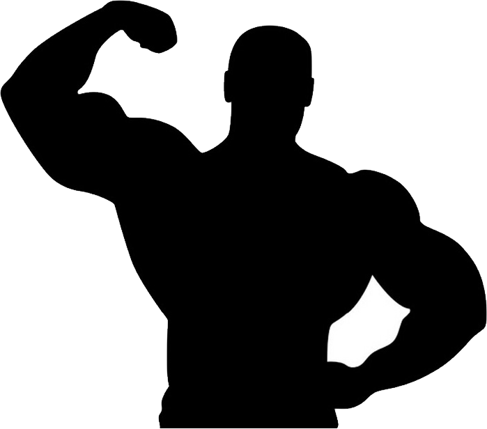 Man image purepng free. Muscle png clip black and white download