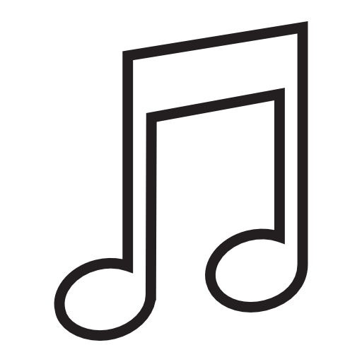 White music notes png. Note image royalty free