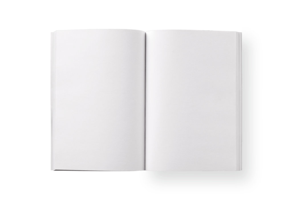 Notebook transparent blank. Pages png stickpng
