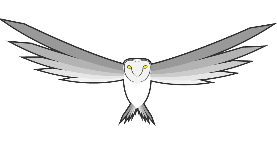 White owl png. Bus lines