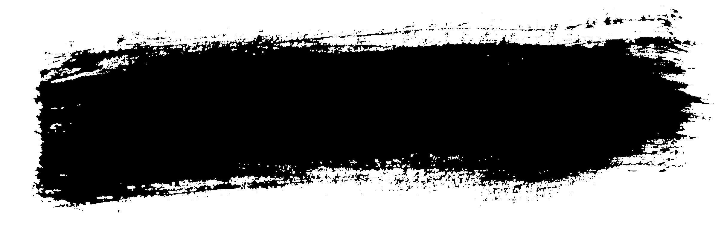 White paint brush stroke png. Grunge banner transparent