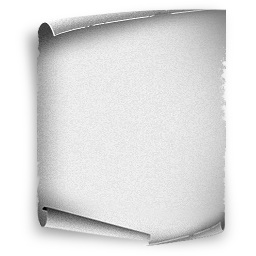 White paper png. Old image