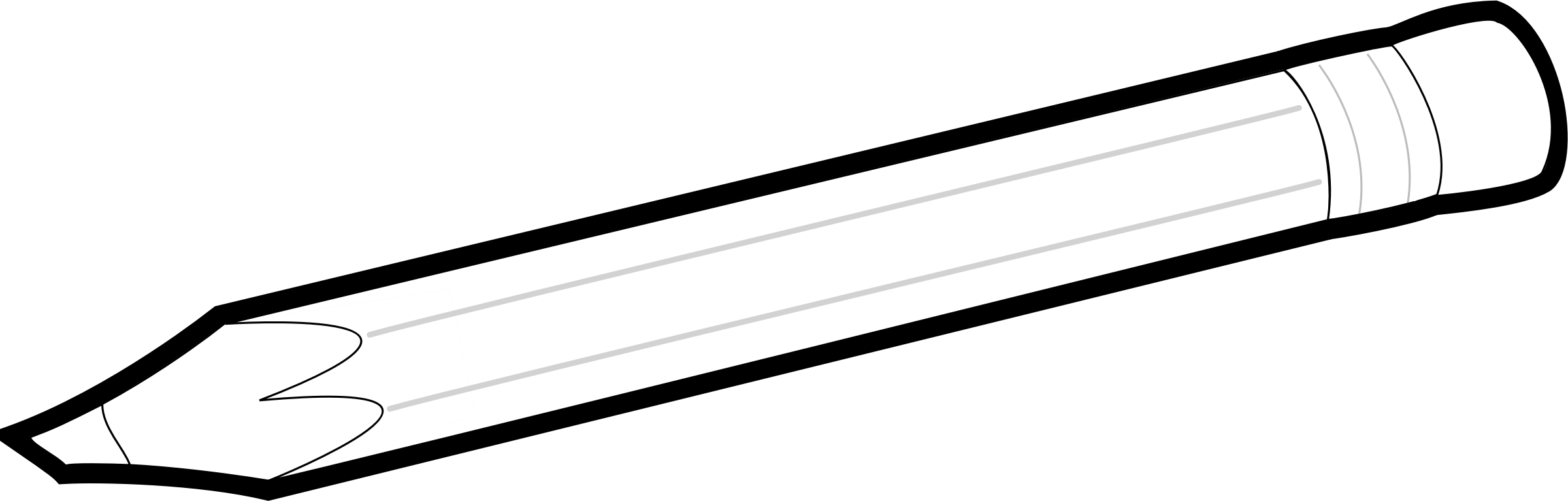 White pencil png. Black and icons free