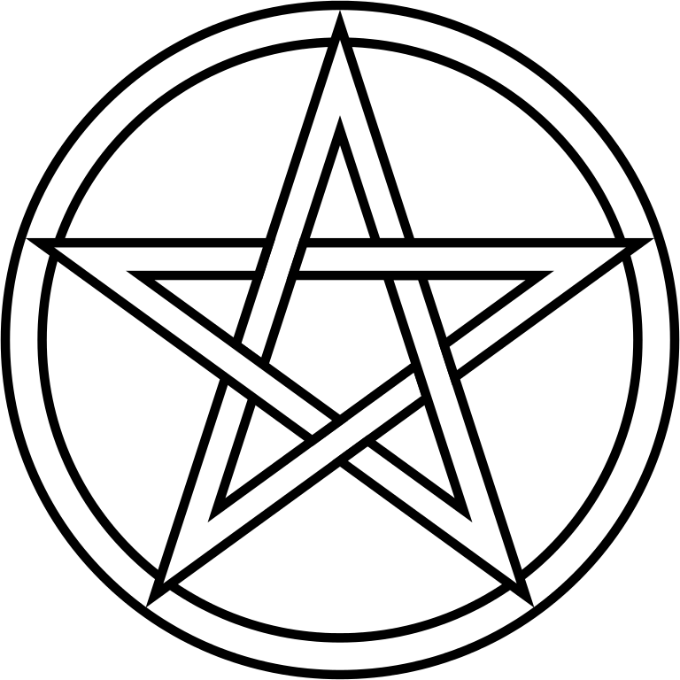 Pentacle transparent svg. File wikimedia commons filepentacle
