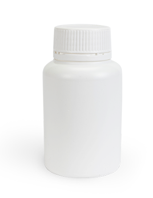 Round Vitamin Bottle