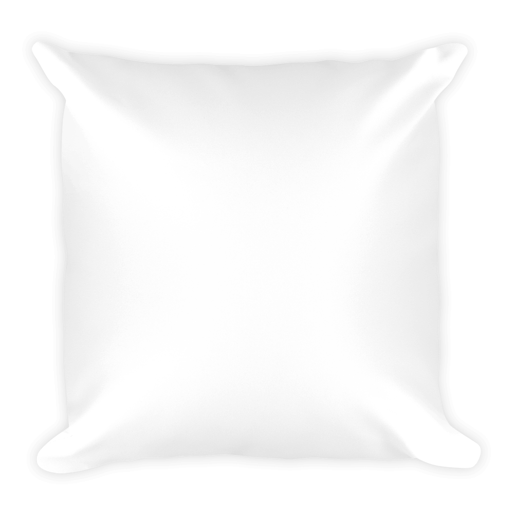 White pillow png. Personalized my family customized