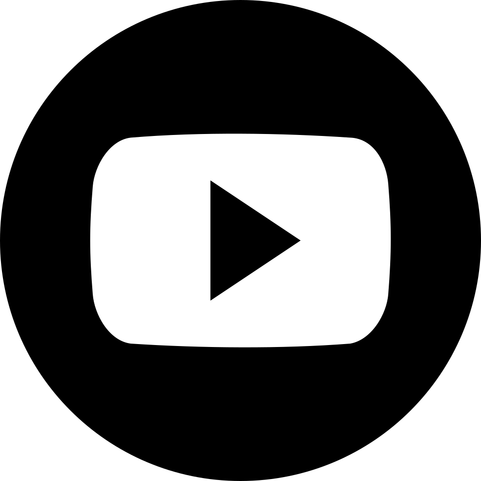 White play button png. Silhouette svg icon free