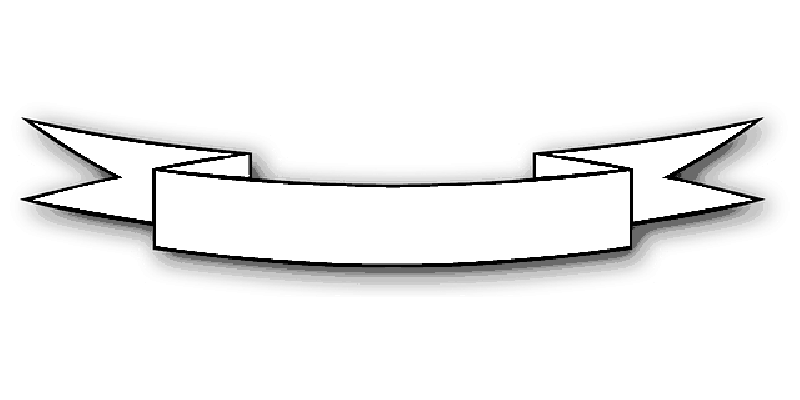 Ribbon vector black and white png. Transparent mb image