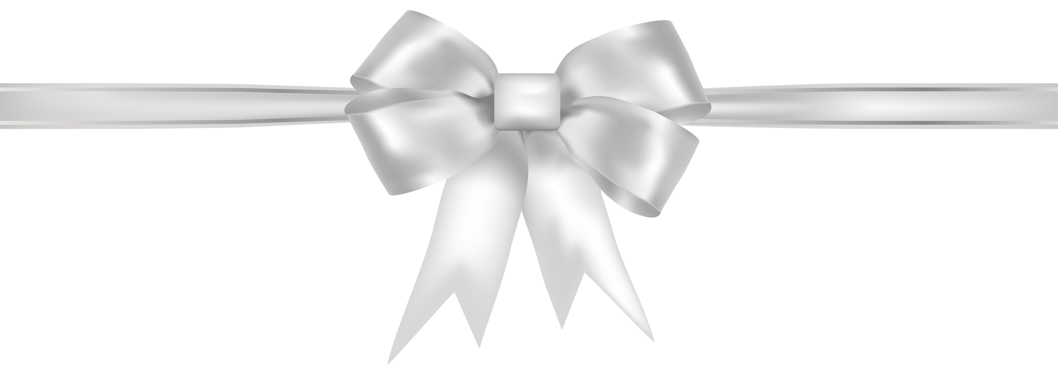 White ribbon png. Clipart best web