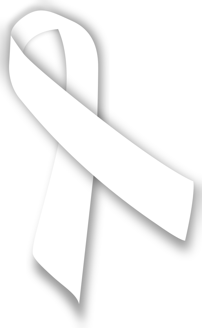 White ribbon png. File svg wikipedia filewhite