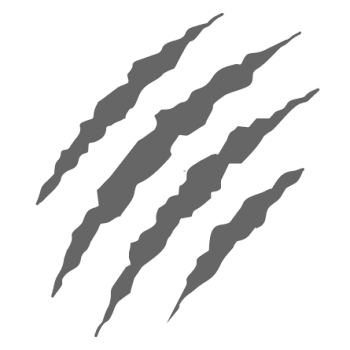 Claws Grey Scratch transparent PNG