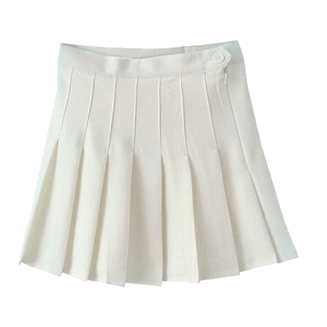 Transparent skirts aesthetic. Itgirl shop tennis pleated