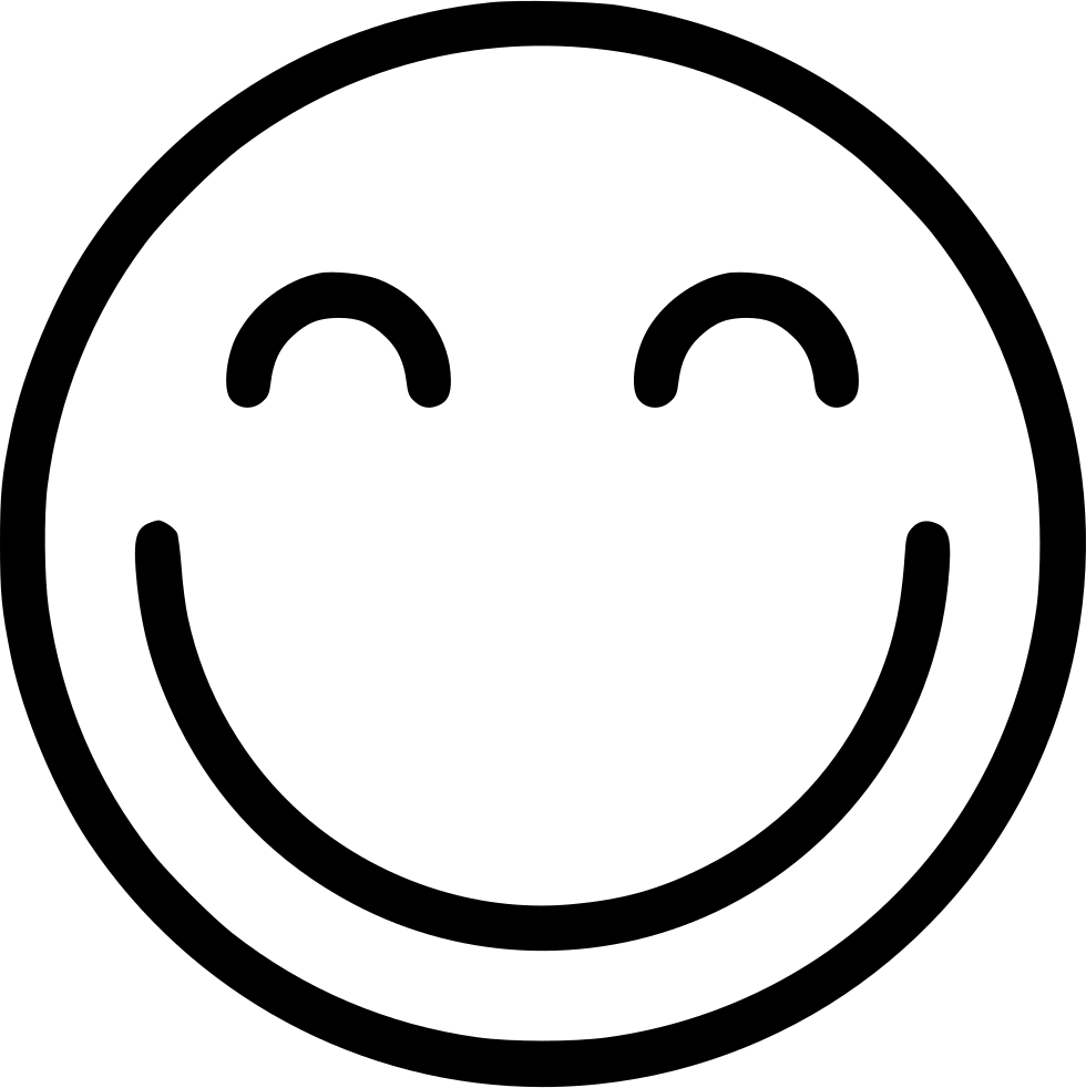 Smile Svg Png Icon Free Download