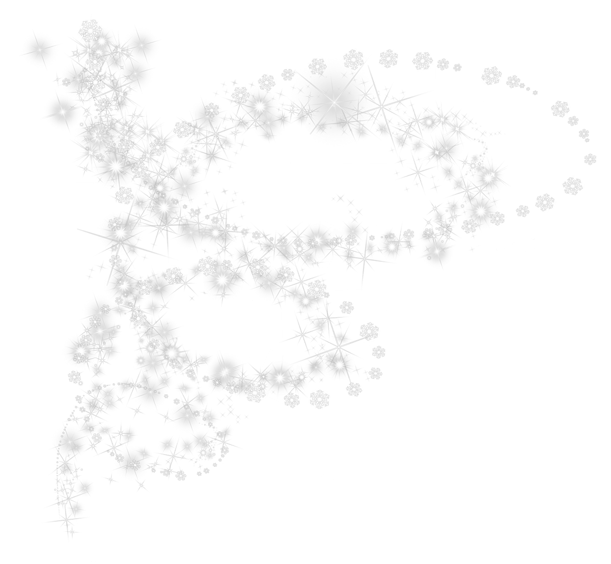 Snowflakes Transparent PNG Pictures