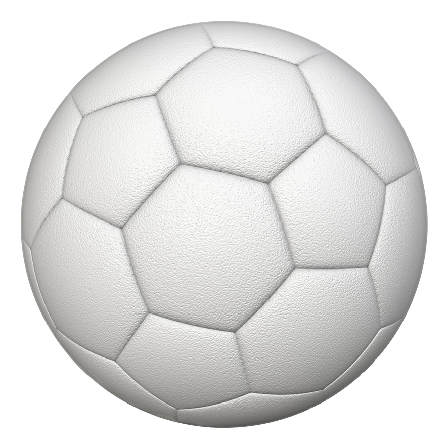 White soccer ball png. Different kinds of sports