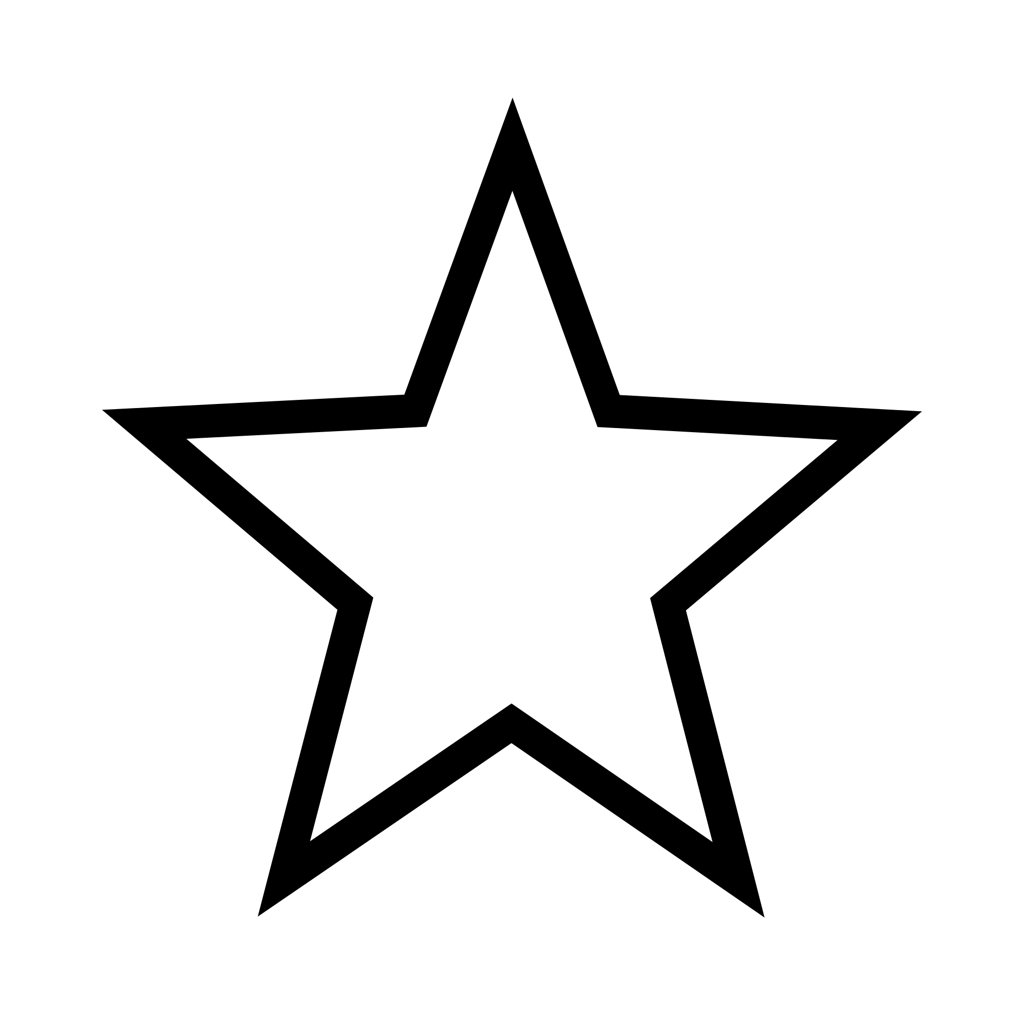 white star png transparent background #63713342