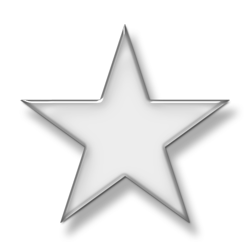 White star png transparent background. Icon image