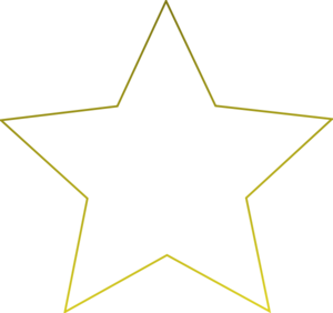 Transparent 5 white star. Free icon png download
