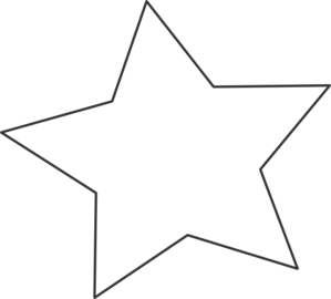 White star png transparent background. Clip art at clker