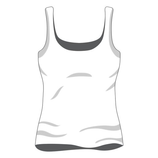 White tank top png. Women icon transparent svg