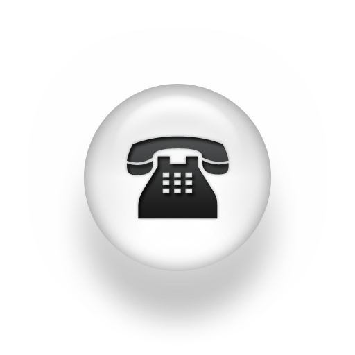 White telephone icon png. Library free icons and