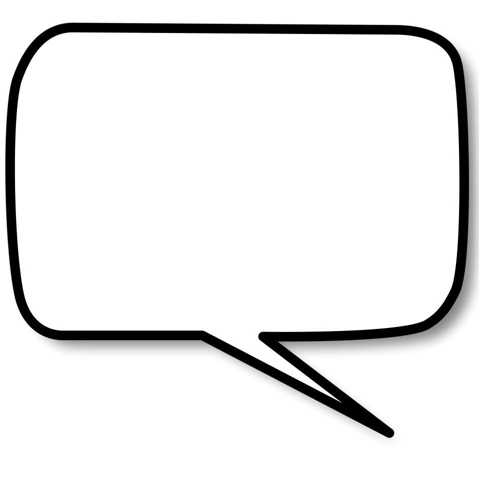 White thought bubble png. Transparent stickpng side text