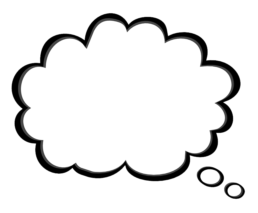 Music clouds png. Thought bubble transparent images