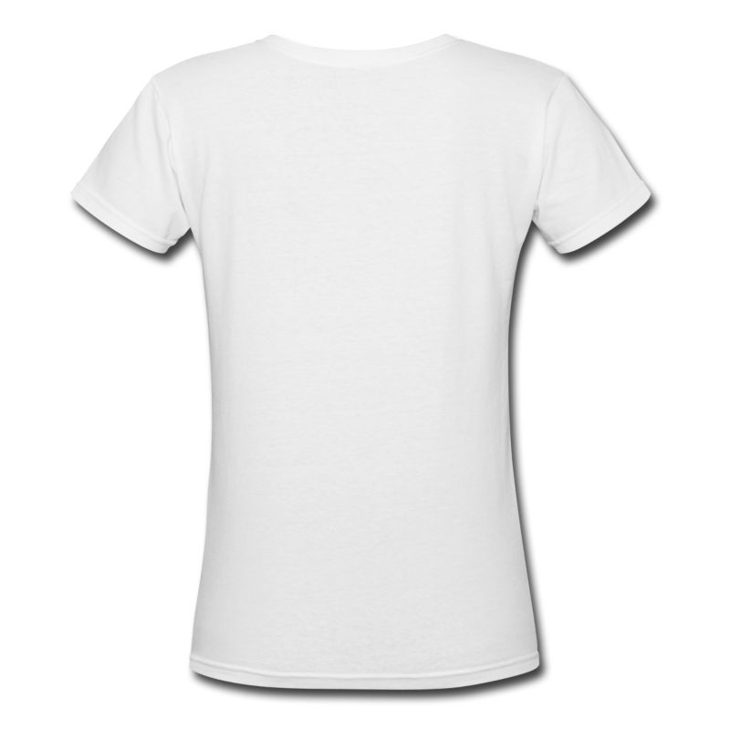 White tshirt front and back png. Davidgray com women s