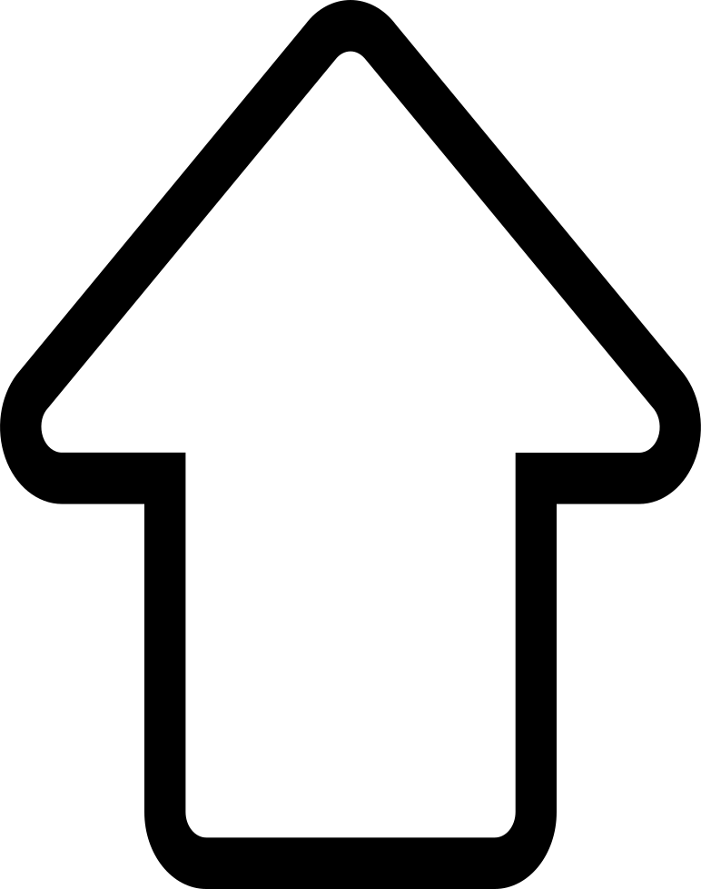 White up arrow png. Svg icon free download