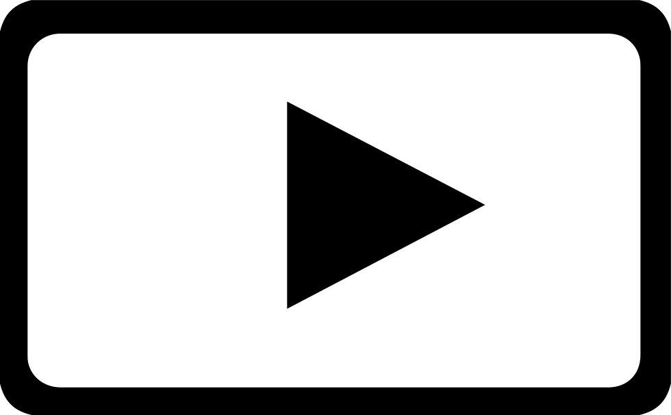 White video icon png. Timing play logo svg