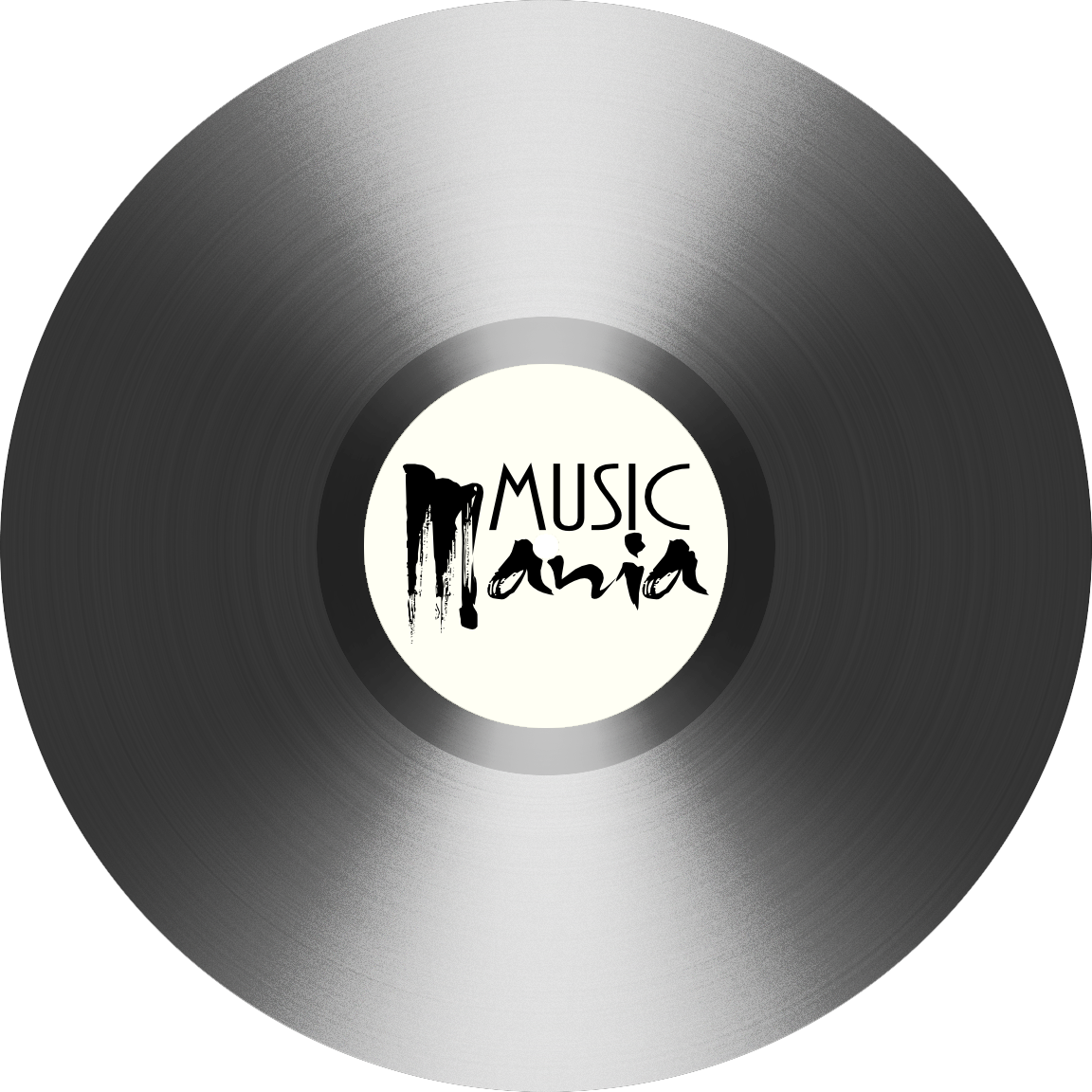 White vinyl record png. Music mania by nuckchorris