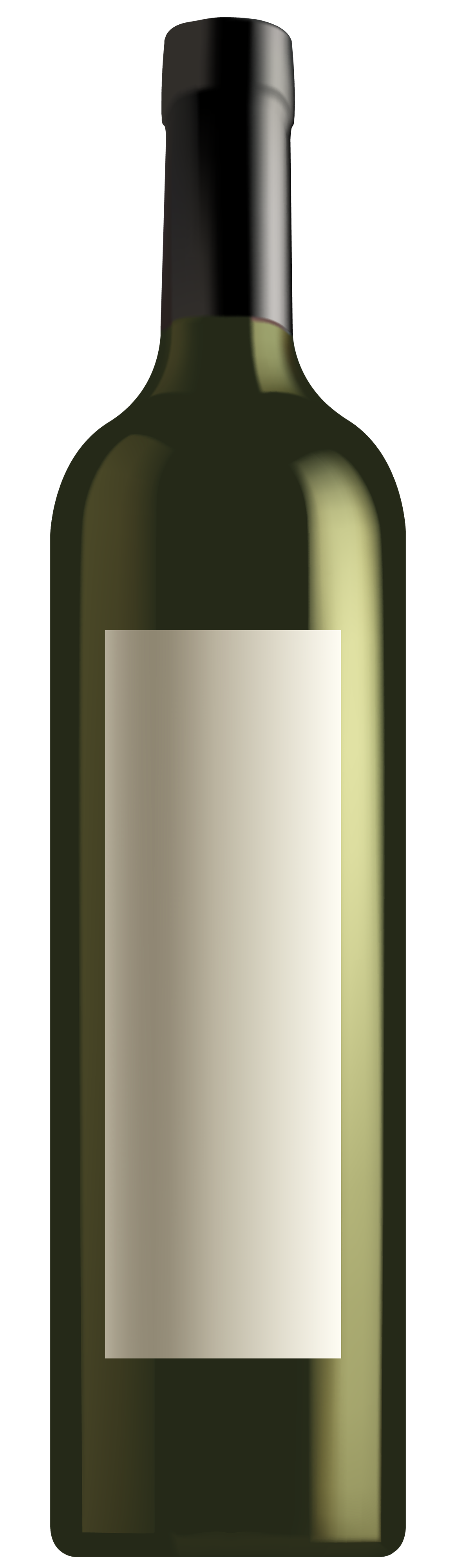 White wine bottle png. Green clipart best web