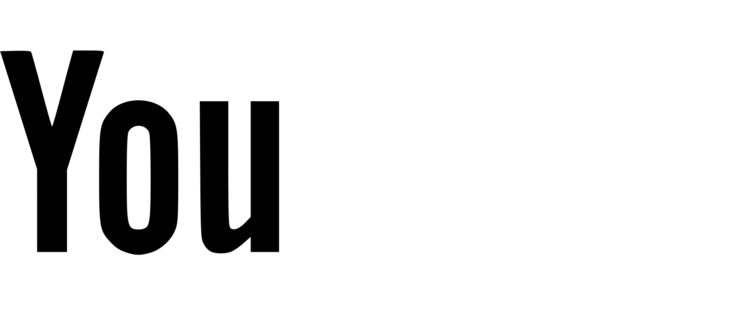 White youtube logo png. Transparent svg vector freebie