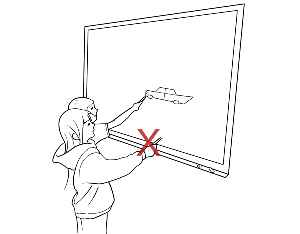 Whiteboard clipart drawing board. White at getdrawings com