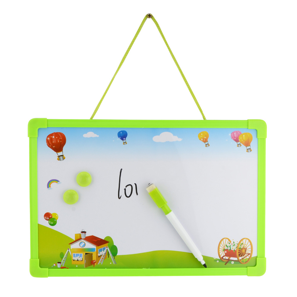 Whiteboard clipart magnet board. Dry erase magnetic message