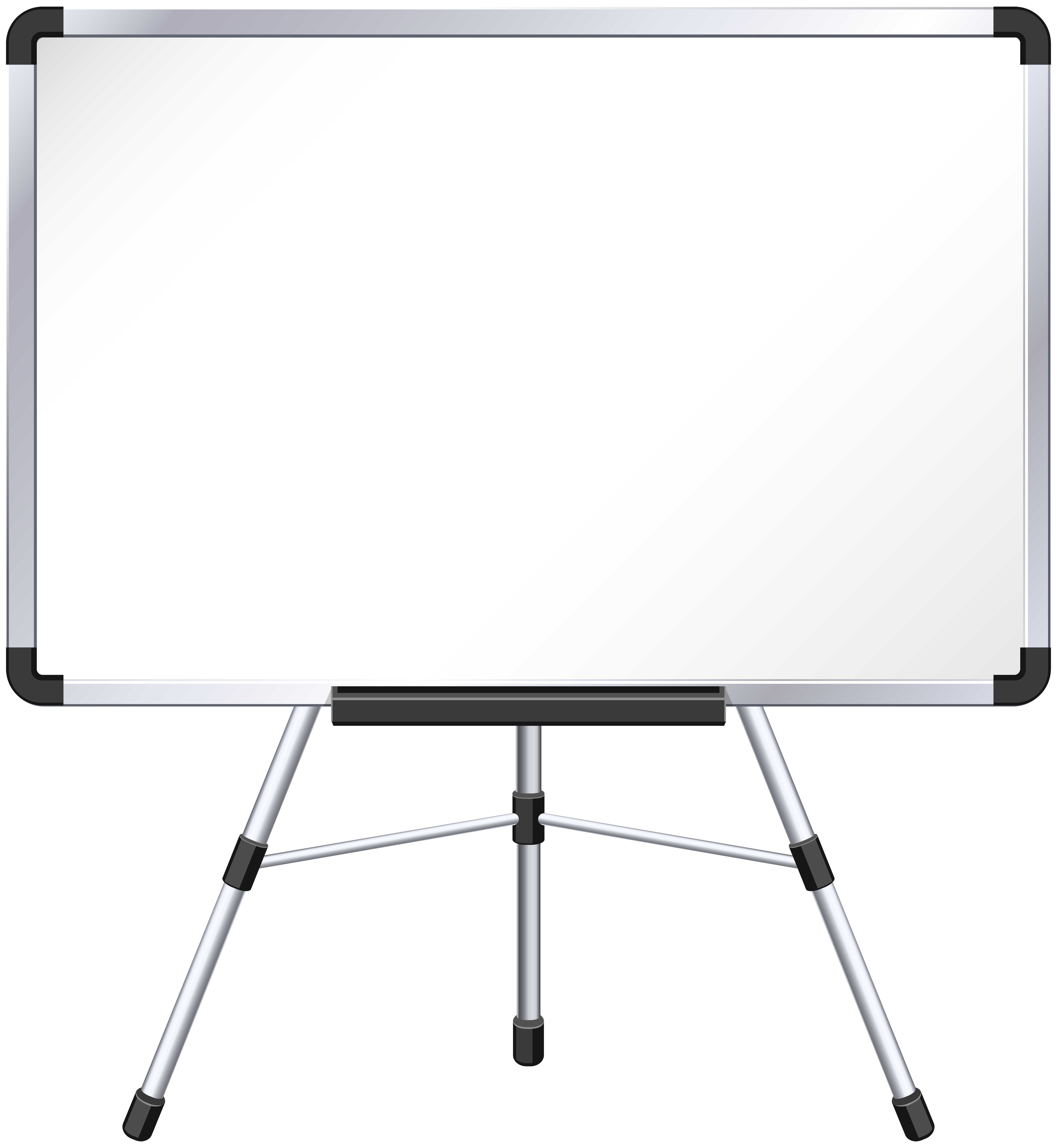 Whiteboard clipart whiteboard easel. Png clip art image