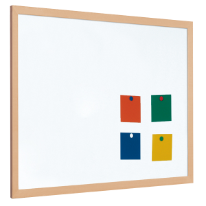 Whiteboard vector office notice board. Magnetic and boards for
