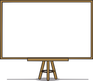 Whiteboard vector transparent. Clip art at png