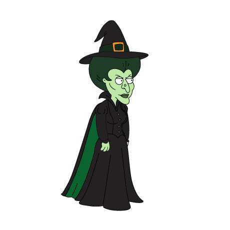 Wicked witch of the west png. Family guy quest for