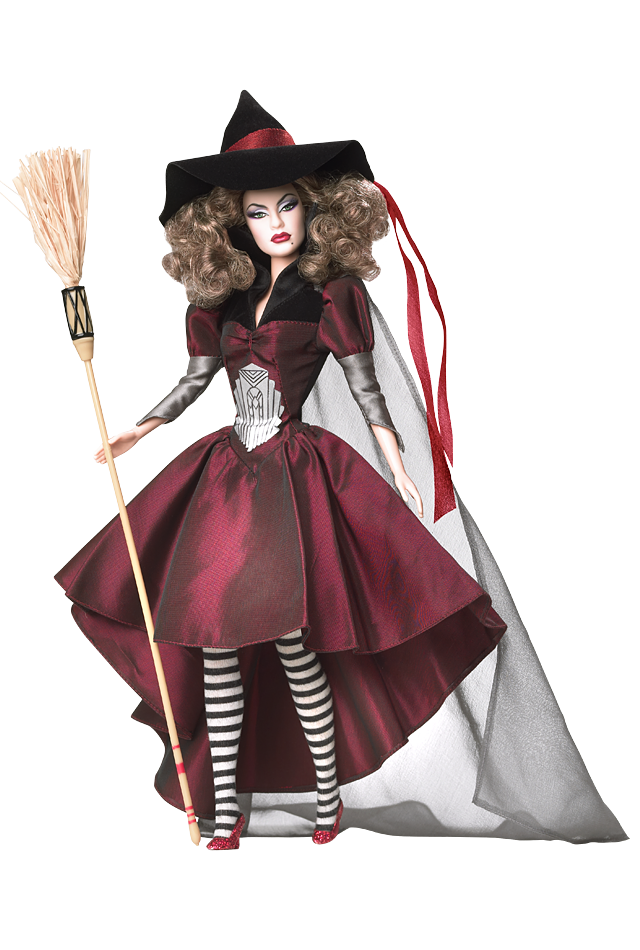 Wicked witch of the west png. Wizard oz east barbie