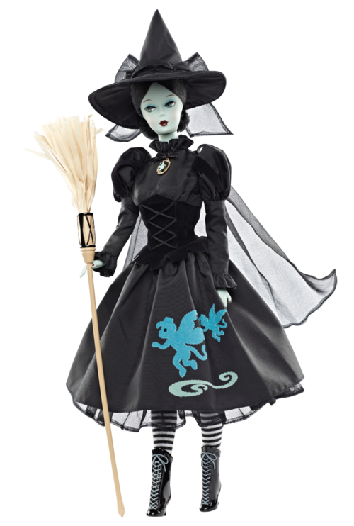 Wicked witch of the west png. Wizard oz doll barbie