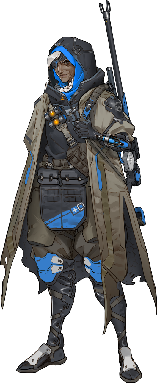 Overwatch soldier 76 png