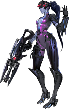 Widowmaker png logo. Overwatch wiki