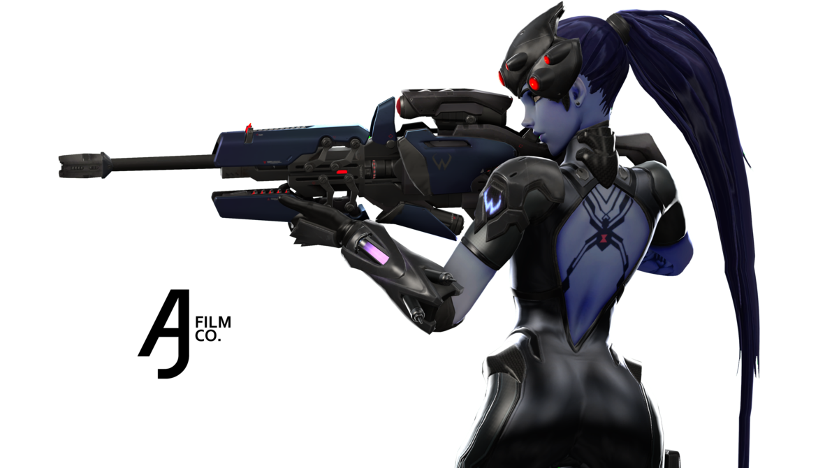 Widowmaker png logo. Overwatch in k sfm
