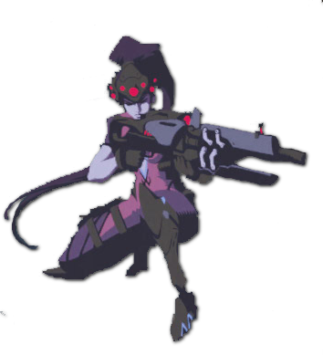 Widowmaker png logo. Image spray crouch overwatch