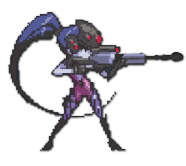 Widowmaker png logo. Image spray pixel overwatch