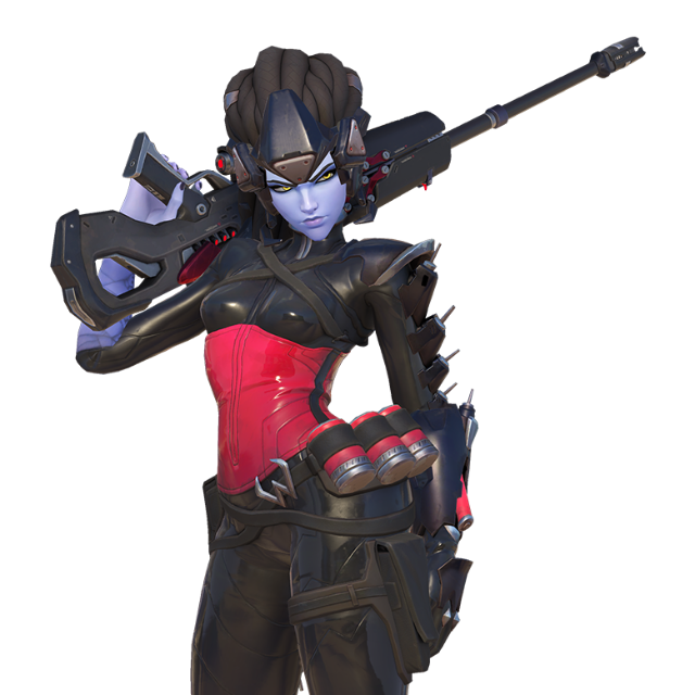 Widowmaker png logo. Overwatch black widow skin